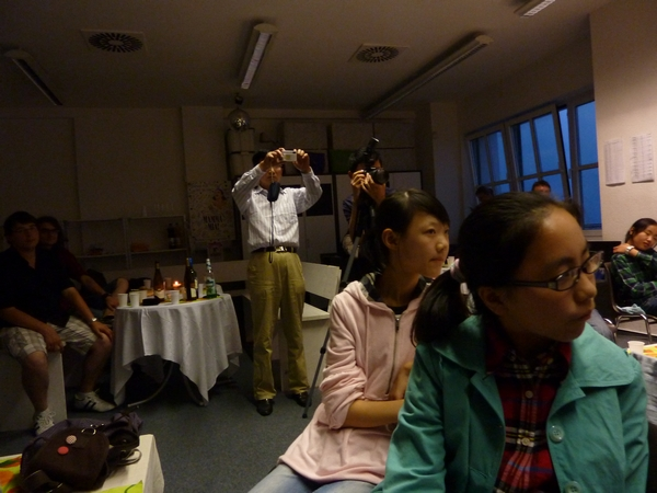 Chinesen zu Besuch, Sassnitz
