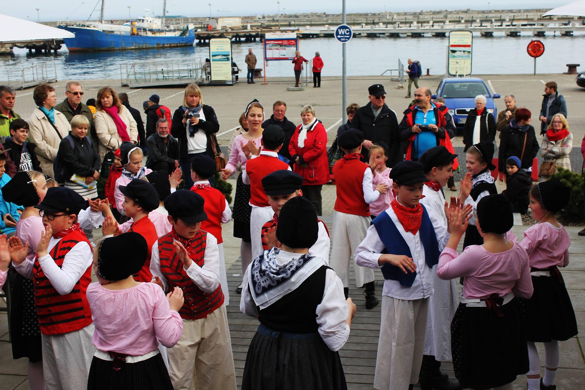 Auftritte des Nachwuchses, Sassnitzer Hafen