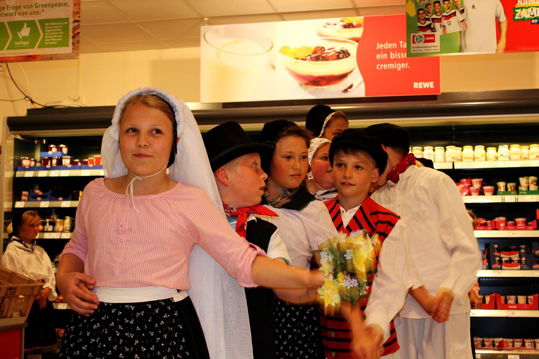 Unsere Kleinen im REWE, Sassnitzer