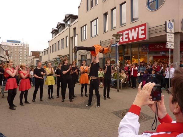 REWE Neueröffnung, Sassnitz