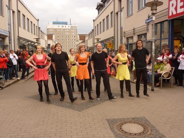 REWE Neueröffnung, Sassnitz  (26.04.2012)
