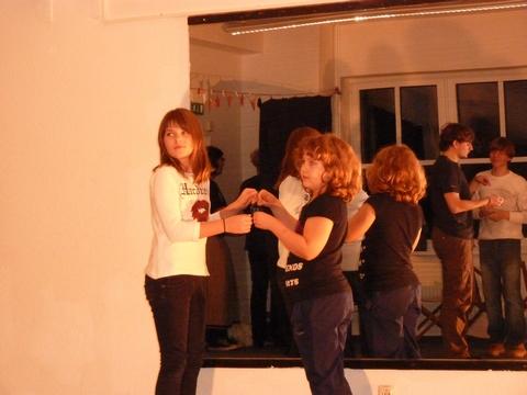 Tag der offenen Tür, Tanzraum